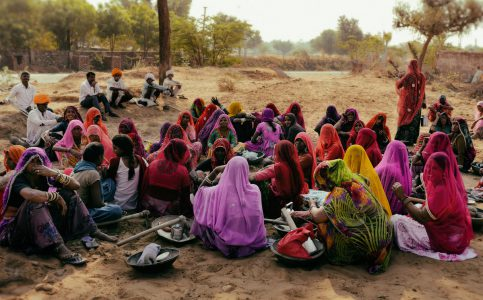Rajasthan Ladies in Sarees © Hamish Scott-Brown